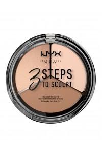 Phấn tạo khối NYX 3 Steps To S...