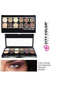 Màu mắt  12 ô Nudes City color...