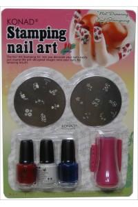 Bộ sơn in KONAD Stamping Nail ...