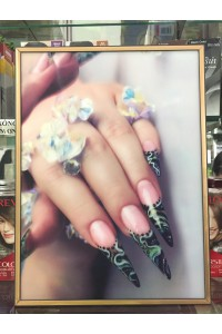 Tranh nail 3D