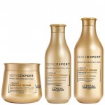Dầu gội chăm sóc tóc hư tổn L'OREAL Lipidium Absolute Repair 300ml (Vàng)