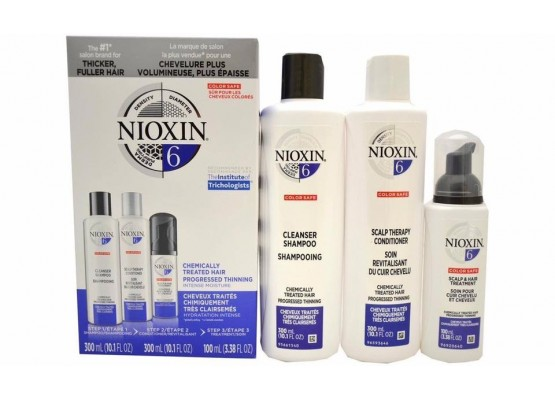 Bộ đặc trị rụng tóc NIOXIN 6 Chemically Treated Hair Progressed Thinning (USA)