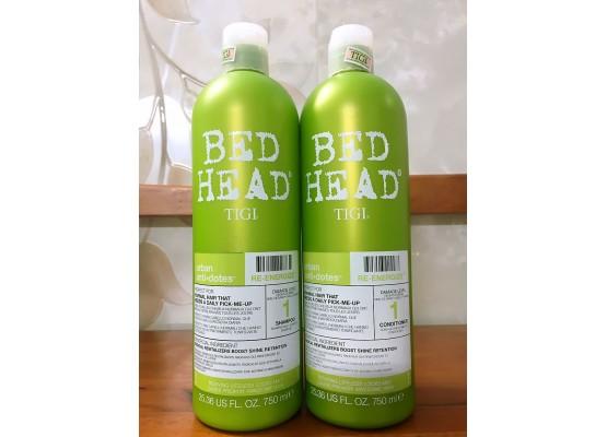 Bộ gội xả cho tóc thường và tóc dầu BED HEAD TIGI Urban Anti-dotes (Level 1)